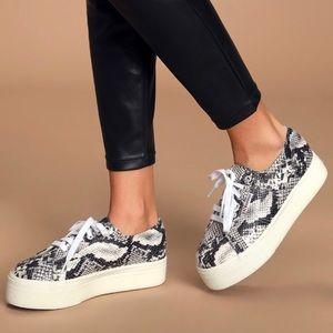 Superga 2750 Fancotw Snake Print Sneaker